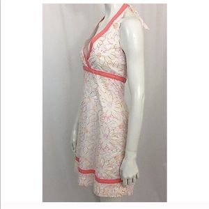 Lilly Pulitzer Dresses - Lilly Pulitzer Embroidered Floral Halter Dress 6